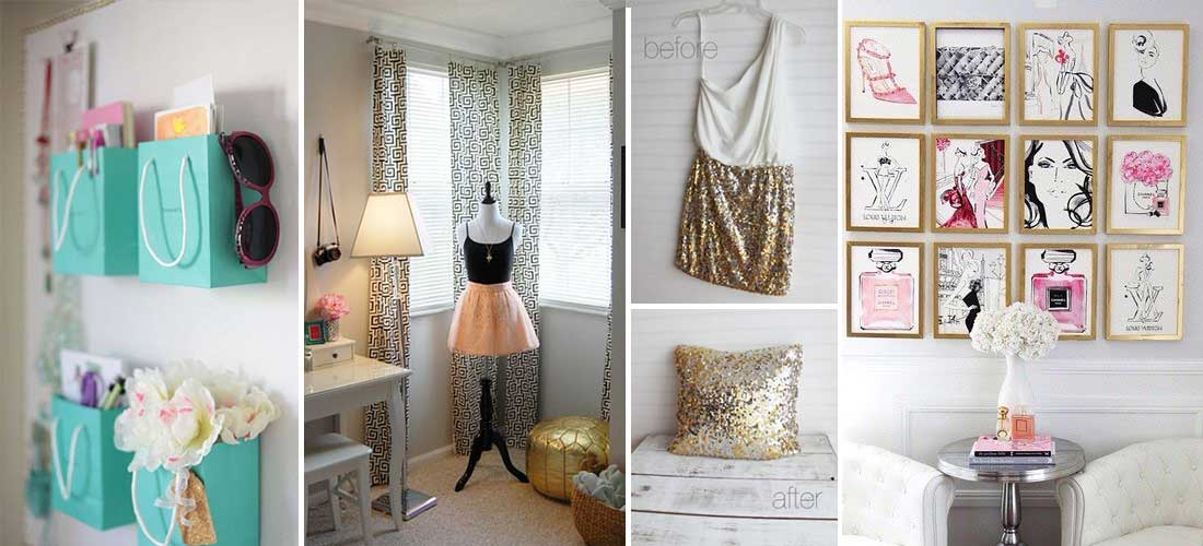 10 incre bles ideas para decorar tu cuarto peque o mujer for Ideas para reformar tu casa