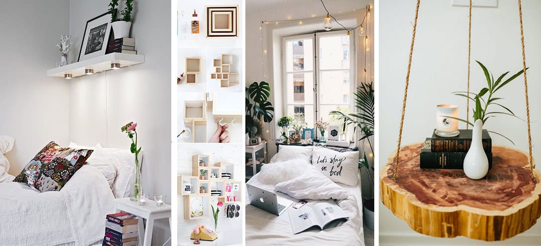 10 incre bles ideas para decorar tu cuarto peque o mujer for Ideas para decorar departamento pequeno