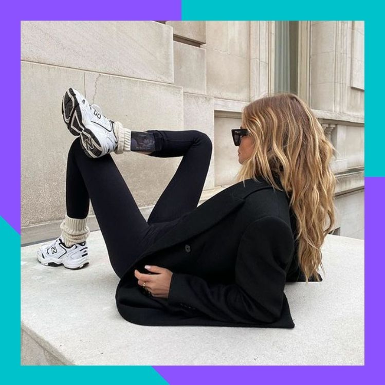 Leggings y calcetines: la nueva tendencia en Instagram